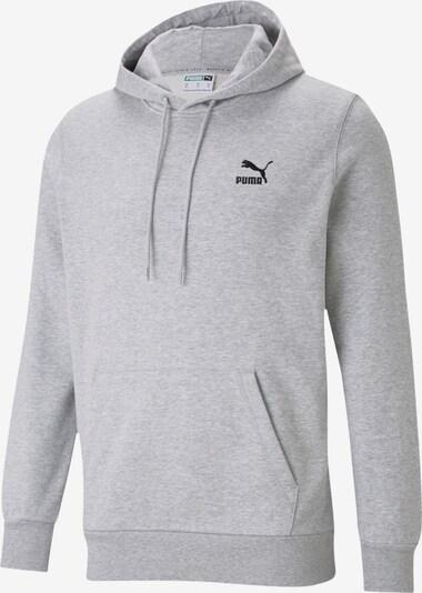PUMA Majica 'Embro' | svetlo siva / črna barva, Prikaz izdelka