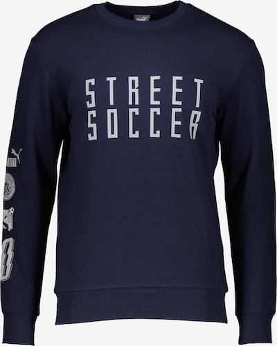 PUMA Athletic Sweatshirt in Dark blue / White, Item view
