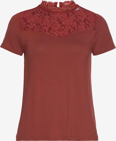 TAMARIS Shirt in rostrot, Produktansicht