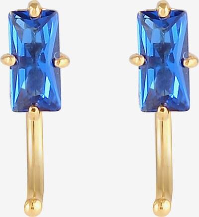ELLI PREMIUM Oorbellen in de kleur Blauw / Goud, Productweergave