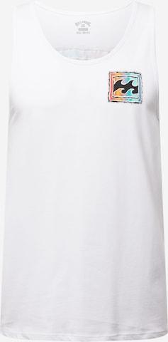 T-Shirt 'Heritage' BILLABONG en blanc