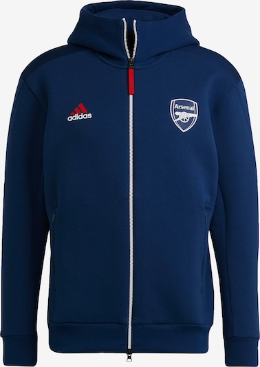 ADIDAS PERFORMANCE Athletic Jacket 'FC Arsenal Anthem' in Navy / Pastel green / Red / White, Item view