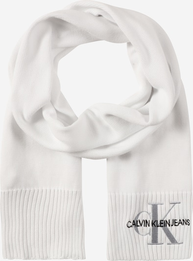 Calvin Klein Jeans Šal 'KNITTED J BASIC WOMEN SCARF' u bijela, Pregled proizvoda