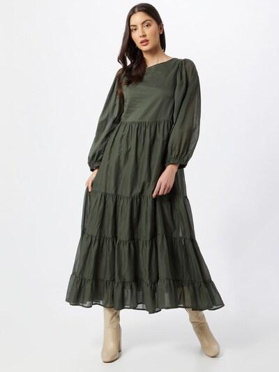 Suknelė 'ELE' iš Ottod'Ame , spalva - tamsiai žalia, Modelio vaizdas