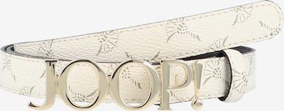 JOOP! Gürtel in beige / gold, Produktansicht