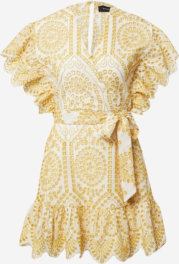 MINKPINK Cocktail dress 'WHILMA' in Gold / White, Item view
