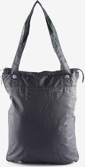 ESPRIT Jutetasche in One Size in grün / schwarz / weiß, Produktansicht