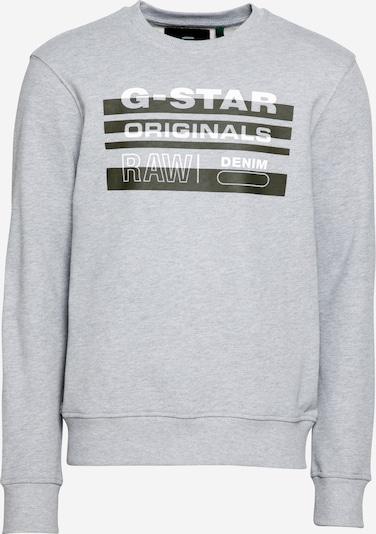 Felpa G-Star RAW di colore grigio sfumato / nero / bianco, Visualizzazione prodotti
