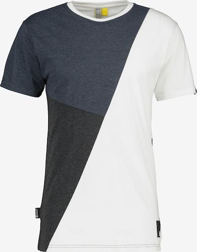 Tricou 'Stan' Alife and Kickin pe albastru marin / negru / alb, Vizualizare produs
