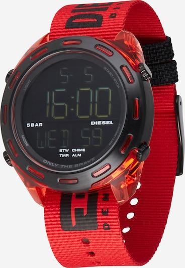 DIESEL Digitaalinen kello värissä punainen, Tuotenäkymä