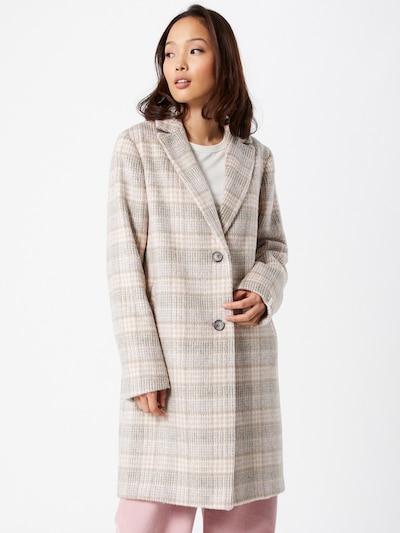 CINQUE Mantel 'MAMBA' in beige / grau, Modelansicht