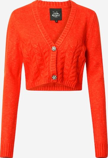 Pepe Jeans Gebreid vest 'DOROTHEA CARDI' in de kleur Sinaasappel, Productweergave