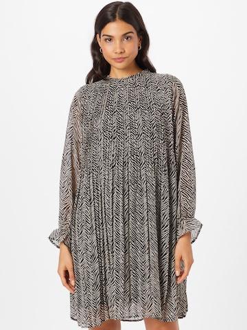 Rochie tip bluză de la ICHI pe gri