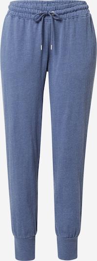 Cotton On Pantalon en bleu chiné, Vue avec produit