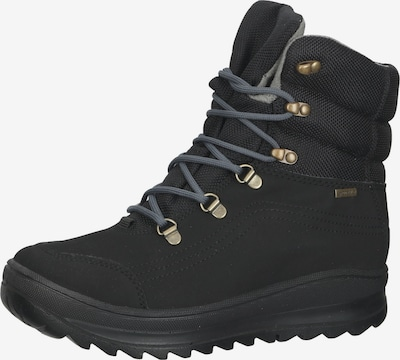 IGI&CO Lace-Up Ankle Boots in Black, Item view