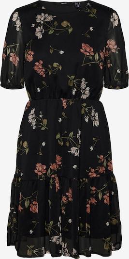 VERO MODA Obleka | oliva / pitaja / staro roza / črna / bela barva, Prikaz izdelka