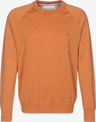 Calvin Klein Jeans Pull-over en orange, Vue avec produit