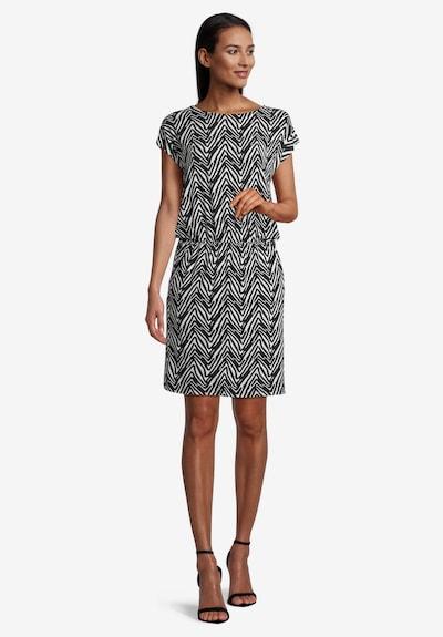Betty Barclay Jerseykleid mit Streifen in schwarz, Modelansicht