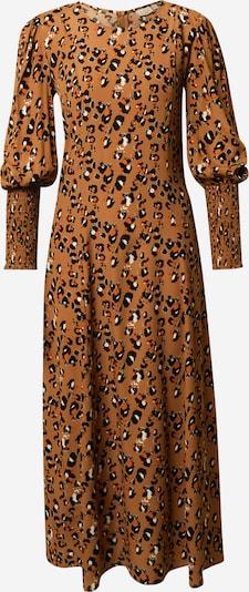 VILA Vestido en marrón / naranja / negro / blanco, Vista del producto