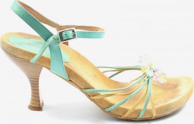 Suzanna High Heel Sandaletten in 40 in türkis / wollweiß, Produktansicht