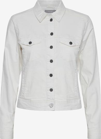 Fransa Jeansjacke in weiß, Produktansicht