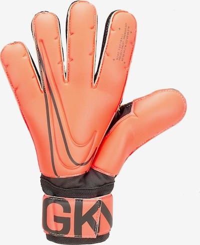 NIKE Sporthandschuhe in pastellorange / schwarz, Produktansicht