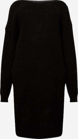 GLAMOROUS CURVE Robes en maille 'AS0538X' en noir, Vue avec produit