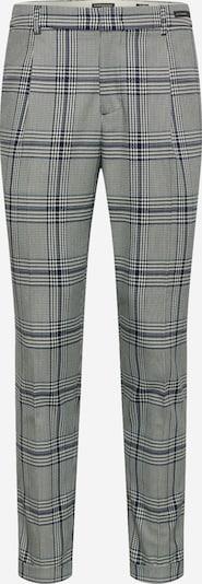 Pantaloni con pieghe 'BLAKE' SCOTCH & SODA di colore blu scuro / nero / bianco, Visualizzazione prodotti