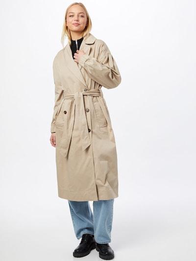 testszínű Neo Noir Átmeneti kabátok 'Branco', Modell nézet