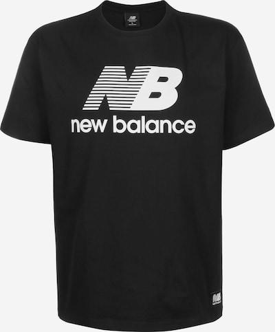 new balance T-Shirt 'MT01518' in schwarz, Produktansicht