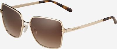 Michael Kors Sonnenbrille '0MK1087' in braun / gold, Produktansicht
