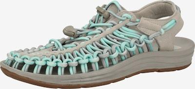 KEEN Sandale in grau / mint, Produktansicht