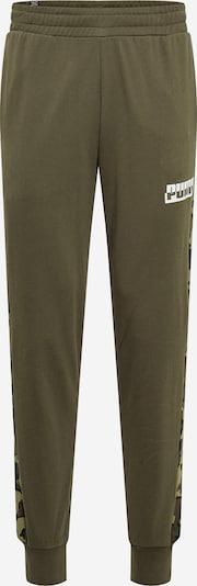PUMA Športové nohavice - olivová / tmavozelená, Produkt
