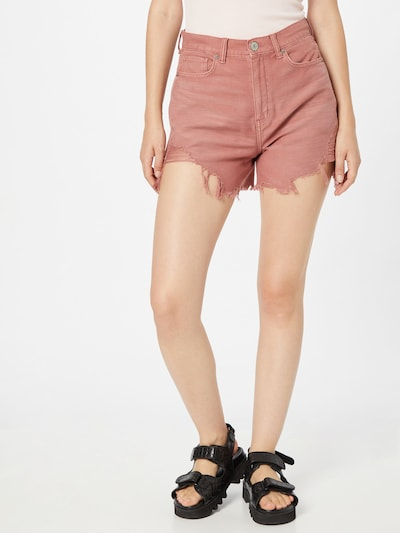 American Eagle Jeans in Pastel red, View model