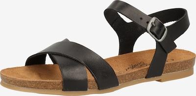 COSMOS COMFORT Páskové sandály - černá, Produkt