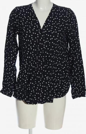 bpc bonprix collection Schlupf-Bluse in XS in schwarz / weiß, Produktansicht