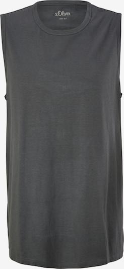 s.Oliver Shirt in de kleur Donkergrijs, Productweergave