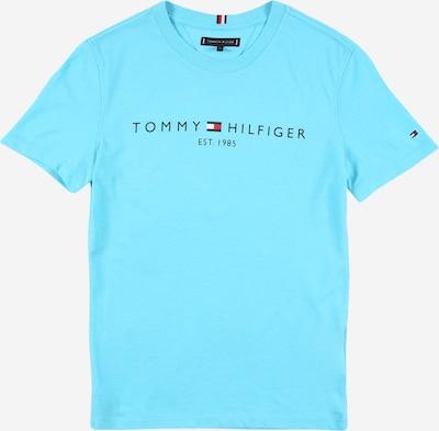 TOMMY HILFIGER Shirt in navy / aqua / feuerrot / weiß, Produktansicht