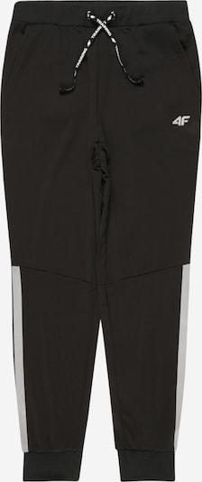 4F Sporthose in schwarz / weiß, Produktansicht