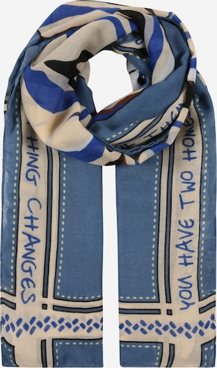 CODELLO Scarf in Beige / Sky blue, Item view