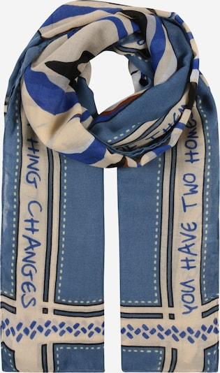 CODELLO Schal in beige / himmelblau, Produktansicht