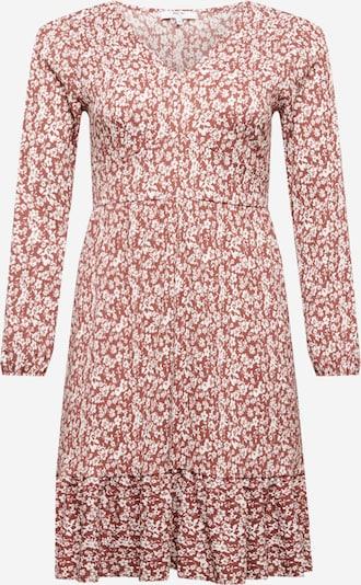ABOUT YOU Curvy Kleid 'Mele' in creme / rostbraun, Produktansicht