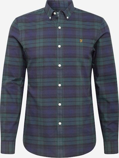 Marškiniai 'BREWER' iš FARAH , spalva - tamsiai mėlyna jūros spalva / žalia, Prekių apžvalga
