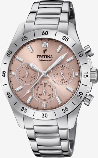 FESTINA Chronograph Uhr in silber, Produktansicht