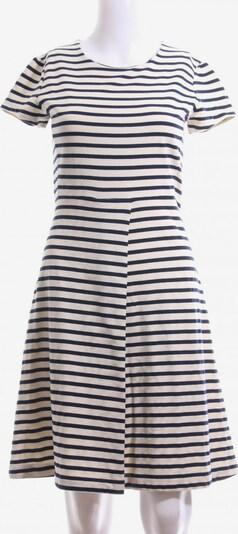Fever London Kurzarmkleid in S in creme / dunkelblau, Produktansicht