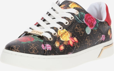 GUESS Sneakers laag in de kleur Gemengde kleuren / Zwart, Productweergave