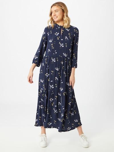 Y.A.S Kleid in blau / gelb, Modelansicht