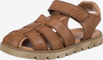 Froddo Sandale 'Keko' in Braun