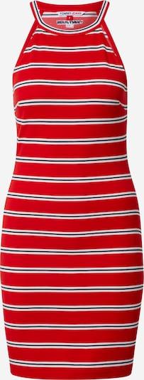 Tommy Jeans Robe d'été en bleu nuit / rouge feu / blanc, Vue avec produit