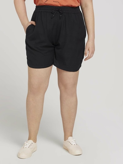 MY TRUE ME Shorts in schwarz, Modelansicht